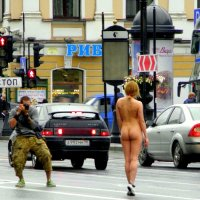 Фотосессия на Невском. :: Елена