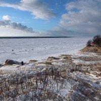 Северодвинск. Весна. Белое море. Открытая вода :: Владимир Шибинский