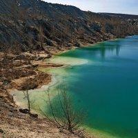 лазурь затопленных карьеров :: Сергей Леонтьев