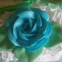 Вкусная голубая роза :: Нина Корешкова