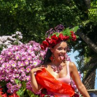 Парад цветов в Фуншале. :: Елена Тумель