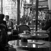 """""""Парижское кафе. 21 век"""". :: Елена Мартынова"""