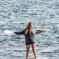 Девушка с веслом, 21 век. :: Aleksandr Papkov