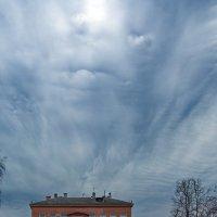 Небо над школой :: Сергей