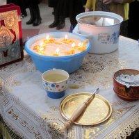 Евангелие, елей, рис, вино, ладан. :: Михаил Попов