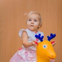 Девочка на лошади :: Евгений Кузьминов