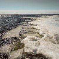 весеннее вскрытие реки :: Андрей ЕВСЕЕВ