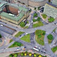 Площадь Дайхтор в Гамбурге :: Денис Кораблёв