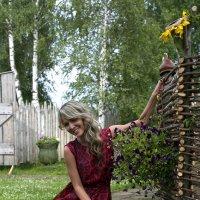 В деревушке у околицы... :: Евгений Мергалиев