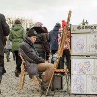 Уличный художник :: Alexey Lipchanskiy