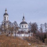 село Филлиповское,Свято-Никольский храм :: Сергей Цветков