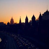 Московский закат :: Владимир Гулевич