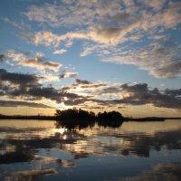 Небо над островом Отрадный :: genar-58 '