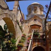 Монастырь Агия Триада-Крит :: Наталия Григорьева