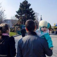 Устала, хочу на руки))Семейная прогулка :: Ксения Довгопол