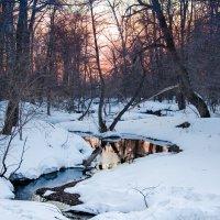 Вечер у маленькой речушки :: Константин Филякин