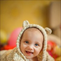 Счастье – это когда есть маленькое Чудо с твоими глазками :) :: Алексей Латыш