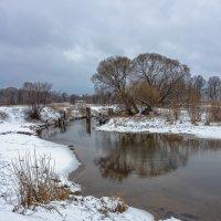 Весенний снег :: Николай Андреев