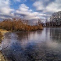 Река во льду. :: Moloh.75 Евгений