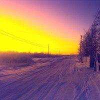 Зимний закат :: Мария Иванова