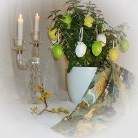 Пасхальное деревце... Светлой пасxи !!! :: Galina Dzubina