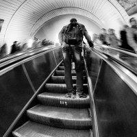 Я выбираю эскалатор вверх! :: Ирина Данилова