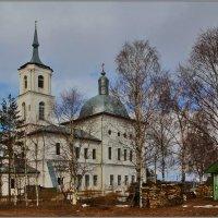 Церковь Воздвижения Честного Креста Господня в Воздвиженье, 1809. :: Дмитрий Анцыферов