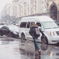 апрельский снег :: Владимир Гулевич