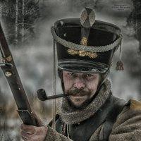 солдат с трубкой :: Виктор Перякин