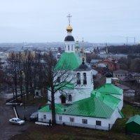 Ансамбль Спасской холодной церкви и Никольской теплой церкви с колокольней. :: Galina Leskova