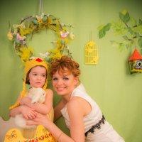 мама и дочка :: Мария Корнилова