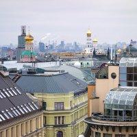 Московские крыши :: Андрей Шаронов