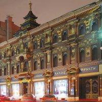 По старым улочкам Москвы : Мясницкая улица, Чайный домик :: sergej-smv