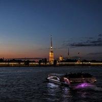 Ночная прогулка :: Лариса Шамбраева