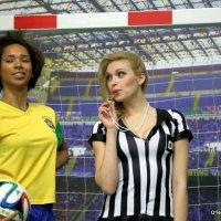 в футбол с бразиянками-запросто :: Олег Лукьянов