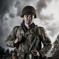 Вторая Мировая Война. Солдат армии США :: Максим Апрятин