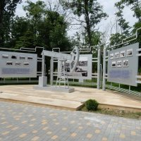 Памятник в парке дружбы Баку и Волгограда :: Вероника Громова