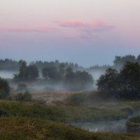 Туман с Большого Киржача... :: Roman Lunin