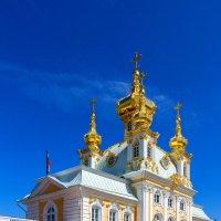 Церковь святых апостолов Петра и Павла Большого Петергофского дворца :: Александр Неустроев
