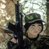 Military :: Ксения Троеглазова