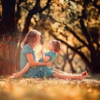 Мама и дочка :: Зоя Павкина