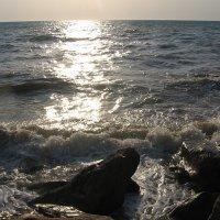 закат на Черном море :: Павел Шалаев