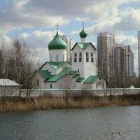 Церковь преподобного Сергия Радонежского. :: Валентина Жукова