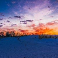 Пожар в небе :: Sergey Oslopov