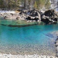 Голубое озеро :: Оксана Клименкова