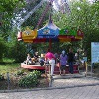 Аттракцион  в  Ивано - Франковском  парке :: Андрей  Васильевич Коляскин