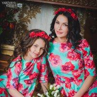 Мама и дочь :: Ксения Яровая