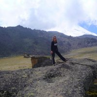 У Каменных грибов (Столов богов) на северном склоне Эльбруса. Высота 3000 м. :: Vladimir 070549