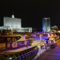 Ночная Москва :: Евгений Кривошеев