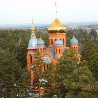 Церковь маленького городка в Сибири :: Владимир Звягин